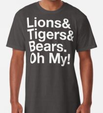 Der Zauberer von OZ Löwen und Tiger und Bären Oh My! Et-Zeichen Longshirt