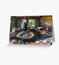 Powwow Van Greeting Card