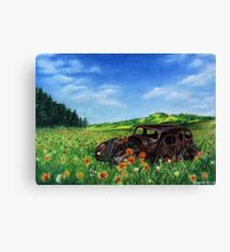 Rusty Meadow Canvas Print