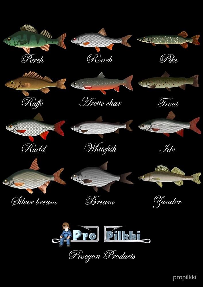 Pro Pilkki 2 Fishes by propilkki