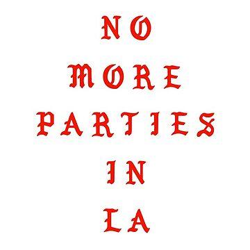 No more parties in LA by FabianB-