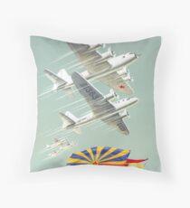 USSR CCCP Cold War Soviet Union Propaganda Posters Throw Pillow