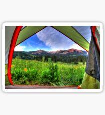 Tent View Sticker