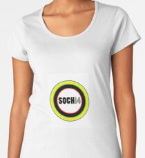 2014 SOCHI OLYMPICS Women's Premium T-Shirt
