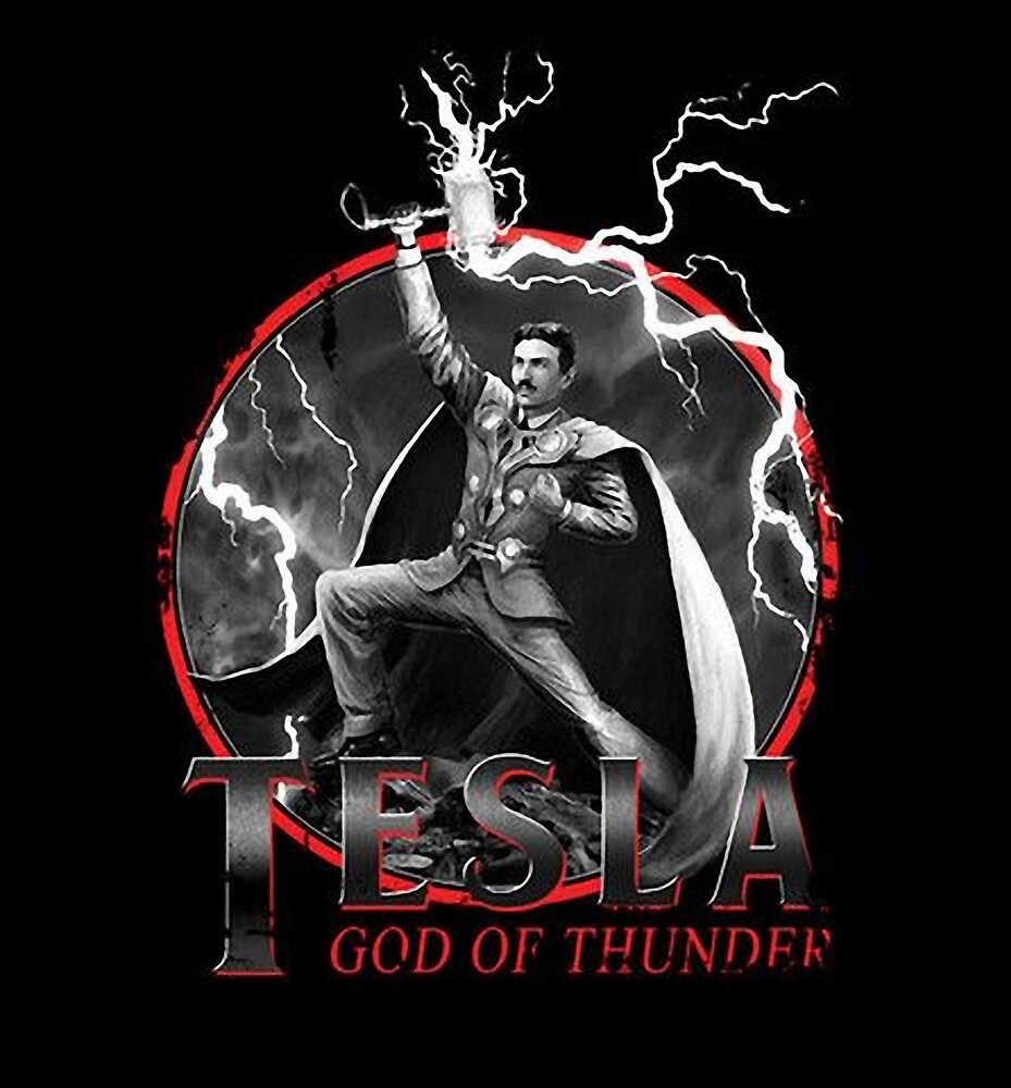Tesla God Of Thunder by ICECHIBII