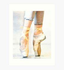 Lámina artística Ballet En Pointe