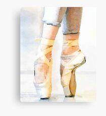 Lienzo Ballet En Pointe
