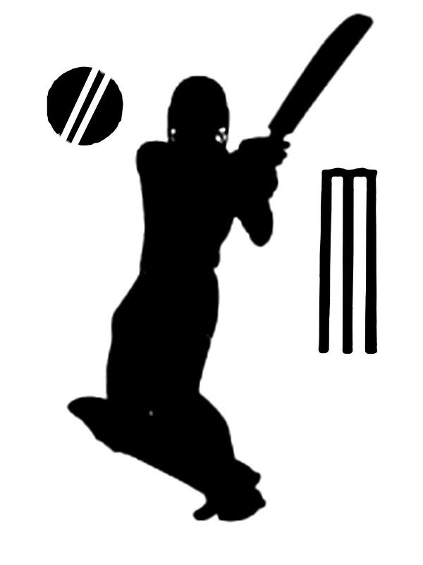 """""""cricket t-shirts on lite"""" Stickers by parko 