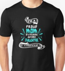 Bestseller - I'm a proud mom of an awesome daughter Unisex T-Shirt