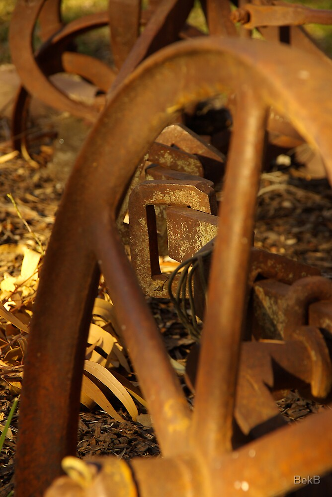 Wheel and Chain by BekB