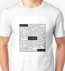 Quotes from Firefly - Jayne Cobb Unisex T-Shirt