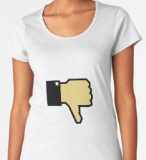 I don't like this! (Thumb Down) Women's Premium T-Shirt