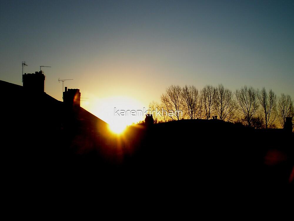 SUN UP by karenkirkham