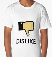Dislike (Thumb Down) Long T-Shirt