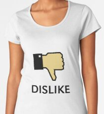 Dislike (Thumb Down) Women's Premium T-Shirt