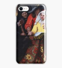 Johannes Vermeer - The Procuress 1656 iPhone Case/Skin