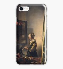 Johannes Vermeer - Girl Reading A Letter By An Open Window  1659 iPhone Case/Skin