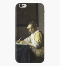 Johannes Vermeer - A Lady Writing iPhone Case