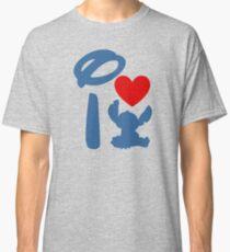 I Heart Stitch (Inverted) Classic T-Shirt
