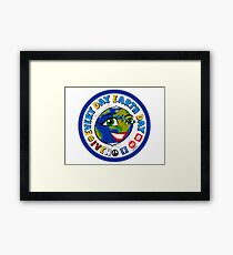 EVERY DAY EARTH DAY Framed Print