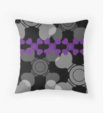 The Iconic Skeletor (black) Throw Pillow