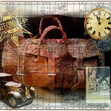 Bon Voyage Collage by tillymagoo