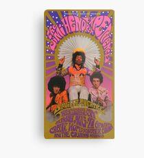 Vintage 60's Concert Metal Print
