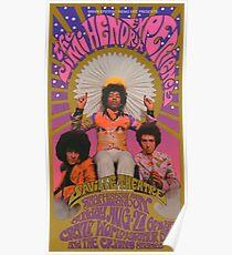 Vintage 60's Concert Poster