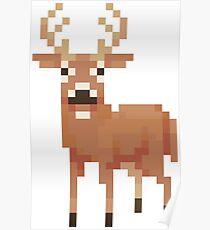 Digital Deer Poster