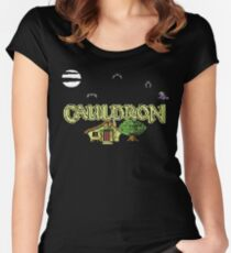 Gaming [C64] - Cauldron Women's Fitted Scoop T-Shirt