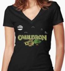 Gaming [C64] - Cauldron Women's Fitted V-Neck T-Shirt