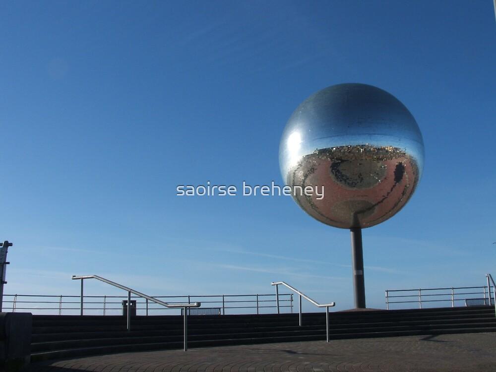 The mirror ball. by saoirse breheney