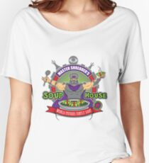 TMNT Master Shredder's Soup House Women's Relaxed Fit T-Shirt