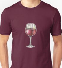 Red Wine Unisex T-Shirt