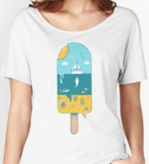Melted landscape Women's Relaxed Fit T-Shirt