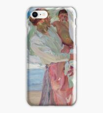 Joaquin Sorolla Y Bastida - After Bathing (1915) iPhone Case/Skin