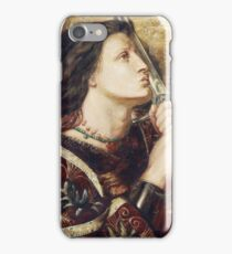 Joan Of Arc Kissing The Sword Of Deliverance iPhone Case/Skin