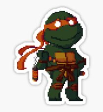 pixel turtle1 Sticker