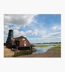 Low tide at Langstone Mill Photographic Print