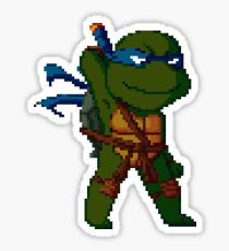 pixel turtle2 Sticker