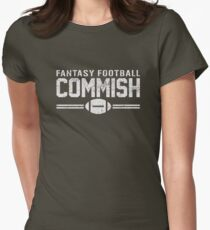 Fantasy Football Commish Women's Fitted T-Shirt
