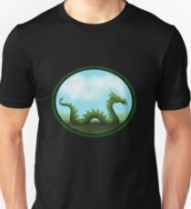 Dreams Of A Green Dragon Unisex T-Shirt