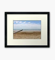 sea and beach Framed Print