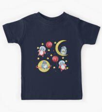 Yeti astronaut Kids Tee