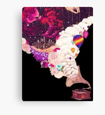 it is all about taste, the high fidelity sound Canvas Print