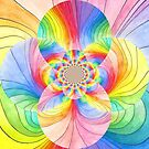 Rainbow Circles by CarolineLembke