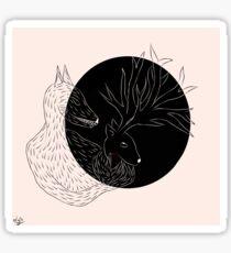 Remus's nightmares - Prongs Sticker