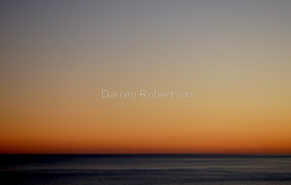 Grandella Sunset (2008) by Darren Robertson