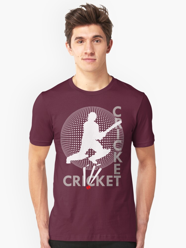 cricketing t-shirts by parko