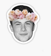 13 reasons why Dylan Minnette Sticker